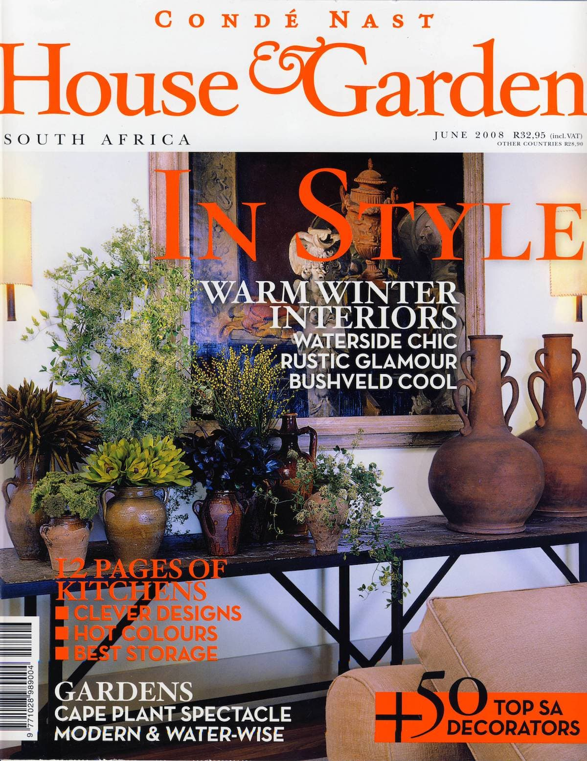 2008 House & Garden Palgrave Cover