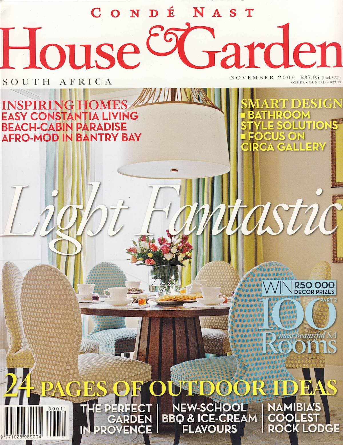 2009 House & Garden Bathrooms Cover